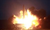 Nordkoreas Staatschef Kim Jong-un kommentiert Raketentest