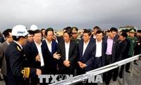 Trinh Dinh Dung 부국무 총리, 하이퐁시 업무차 방문