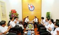 베트남 조국전선 중앙위원장; 6월 21일 베트남 혁명언론의 날에 베트남 라디오방송국 축하