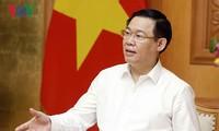 Vuong Dinh Hue 베트남 부총리, 기업 발전 혁신 지도위원회 회의 주재