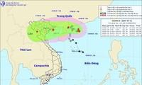 각지방, 버빙카 태풍 적극적인 대응