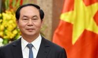 Tran Dai Quang주석과 베트남 위상 제고에 기여한 자취