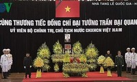 쩐다이꽝 (Trần Đại Quang) 국가주석 추모식 엄숙히 진행