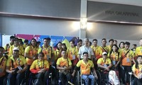 아시아 장애인 아시아 경기대회: 베트남 장애인 체육 대표단 인도네시아로 출발