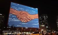 한국–조선:  2007년 남북 정상회담 기념식 처음으로 개최