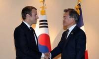 프랑스 - 한국, 관계강화하기로