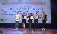 베트남 예술가들,  2018년 국제 인형극축제에서 많은 상 획득