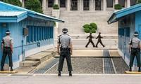 한국, 조선, 유엔 사령부의 첫 번째 삼자회의