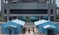 조선 인민민주주의공화국, 판문점에서 수백 발의 지뢰 제거