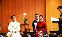 Nguyen Thi Kim Ngan 국회의장, 한국 서울에 도착