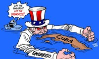 """""""Time to end the Cuba embargo"""""""