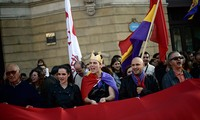Anti-monarchy protests in Spain