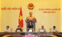 Inauguran décima reunión del Comité Permanente de la Asamblea Nacional de Vietnam