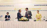Elevan el nivel de cooperación entre Vietnam Airlines y Air France