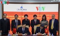 La VOV y la Radio Popular de Guangxi firman un nuevo tratado de cooperación