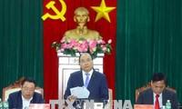 Premier vietnamita orienta el crecimiento socioeconómico de Phu Yen