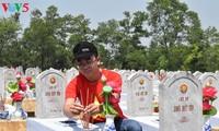 Homenajes en los sitios históricos de Truong Son