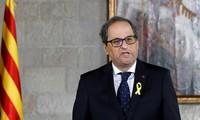 Presidente de Cataluña forma nuevo gobierno