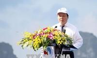 Lanzan en Quang Ninh Semana del Mar y las Islas Vietnamitas