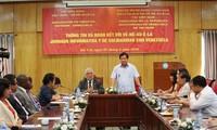 Vietnam reitera su apoyo a Venezuela