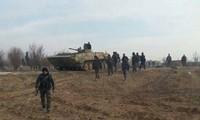 Ejército sirio lanza ofensiva contra bastión rebelde de Daraa