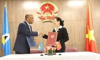 Vietnam establece relaciones diplomáticas con Santa Lucía