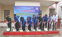 Los jóvenes del delta del río Mekong hacia el mar y las islas nacionales