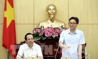 Vicepremier urge a promover democracia en órgano gubernamental
