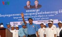 Concluye en Camboya campaña electoral