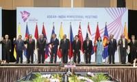 Asean y la India fortalecen cooperación en diversos sectores