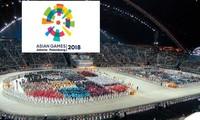 Todo preparado para la inauguración de los Juegos Asiáticos 2018 en Indonesia