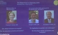 Otorgan el Nobel de Química 2018 a tres científicos por trabajo sobre la evolución