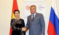 Consolidan la cooperación parlamentaria entre Vietnam y Rusia