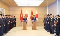 Premieres de Vietnam y Japón informan sobre los resultados de la X Cumbre Mekong-Japón