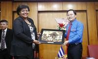 Vietnam y Cuba estrechan cooperación en sector juvenil
