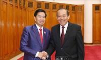 Vietnam aspira a consolidar los vínculos especiales y únicos con Laos