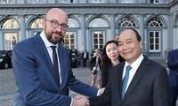 Vietnam y Bélgica dispuestos a profundizar los nexos bilaterales