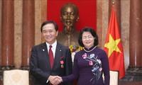 Promueven conexión empresarial entre Vietnam y localidad japonesa