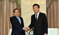 Delegación del Frente de la Patria de Vietnam visita China