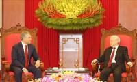 Líder partidista y presidente de Vietnam recibe a jefe de Duma Estastal de Rusia