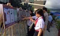 Refuerzan la educación sobre la soberanía marítima para los niños vietnamitas
