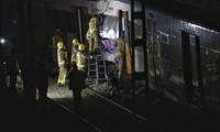 Choque de trenes en España: al menos un muerto y 95 heridos