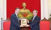 Vietnam aprecia el papel de las empresas estadounidenses para fortalecer las relaciones binacionales