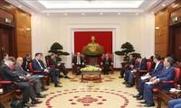 Vietnam aspira a estrechar la colaboración comercial e inversionista con Alemania