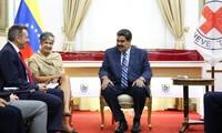 Presidente venezolano acuerda el ingreso de ayuda humanitaria con Cruz Roja