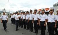 Buque de la Armada de Vietnam asiste a ejercicios marítimos multinacionales en Singapur