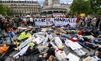 Marchas en Francia para denunciar actividades de Bayer-Monsanto