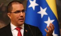 Canciller venezolano asegura que conflicto nacional se soluciona con diálogo