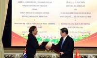 Ciudad Ho Chi Minh y Cuba refuerzan la cooperación en ciencia y tecnología