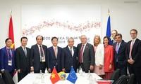 Nuevos hitos en las relaciones bilaterales y multilaterales de Vietnam